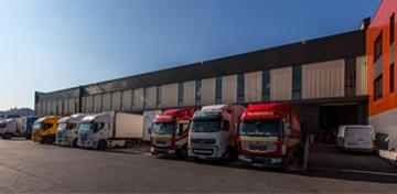Are you looking for business premises or offices close to transport and logistics companies?